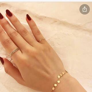 エナソルーナ(Enasoluna)のピンキーリング♡3号♡ダイヤモンド♡K10(リング(指輪))