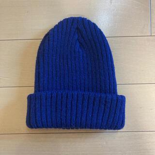 UNITED ARROWS - ユナイテッドアローズ ニット帽 ネイビー