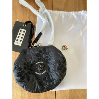 モンクレール(MONCLER)のモンクレール ジーニアス シモーネロシャ 刺繍 がま口(ショルダーバッグ)