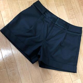 コントワーデコトニエ(Comptoir des cotonniers)のブラック パンツ(ショートパンツ)