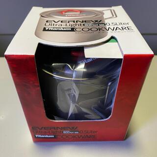 エバニュー(EVERNEW)のエバニューEVERNEW チタンマグポット500 ECA266R(調理器具)