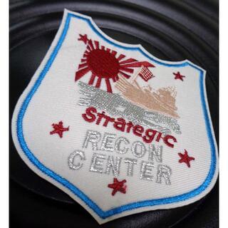 新品Strategic Recon アメリカ軍米軍 刺繍ワッペン(パッチ)旭日旗(その他)