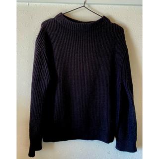 ケービーエフプラス(KBF+)のKBF ニット セーター 黒 Fサイズ(ニット/セーター)