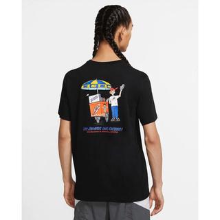 ナイキ(NIKE)のナイキ NIKE Tシャツ TEE FOOD CART 希少デザイン L(Tシャツ/カットソー(半袖/袖なし))