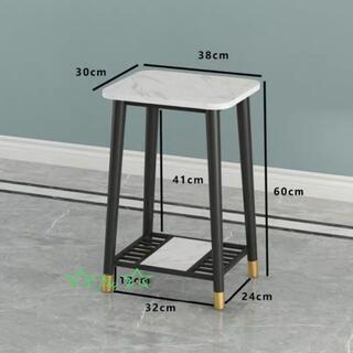 飾り台 花台 大理石ローテーブル リビングテーブル センターテーブル(ローテーブル)