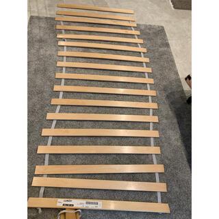 イケア(IKEA)の【IKEA】LUROY ベッドベース(すのこ)80x200cm  2セット(すのこベッド)
