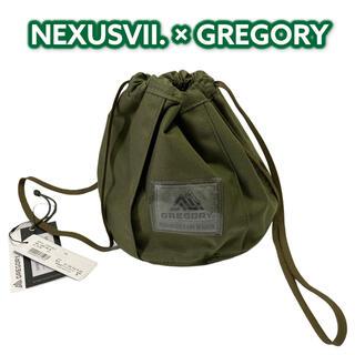 NEXUSVII - GREGORY CINCH BAG NX ネクサスセブン グレゴリー バッグ