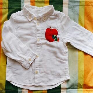 グラニフ(Design Tshirts Store graniph)のgraniph 綿(ガーゼ)シャツ はらぺこあおむし(ブラウス)