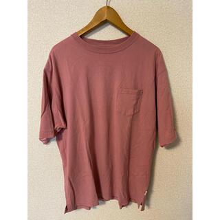コーエン(coen)のcoen Tシャツ ピンク オーバーサイズ L(Tシャツ/カットソー(半袖/袖なし))