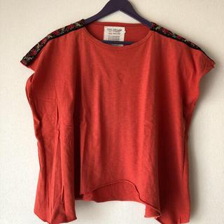 ゴートゥーハリウッド(GO TO HOLLYWOOD)のrikaito様専用美品ゴートゥーハリウッドチロリアン刺繍カットソー(Tシャツ/カットソー)