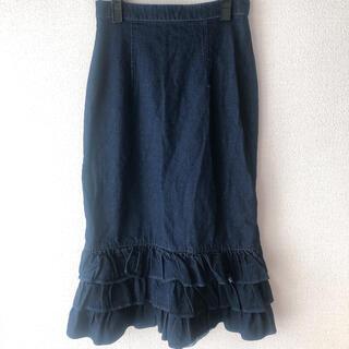 デイシー(deicy)のDEICY♡ 未使用デニムスカート(ひざ丈スカート)