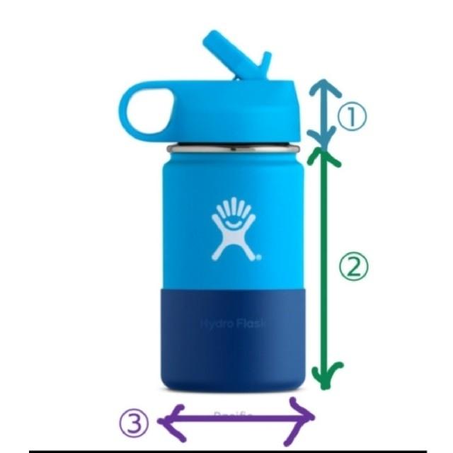 【フルオーダー】 パラコード ショルダー ボトル ホルダー ☆ ハイドロフラスク ハンドメイドのキッズ/ベビー(外出用品)の商品写真