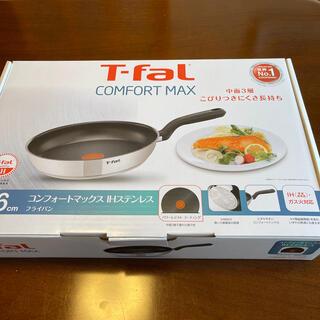 ティファール(T-fal)のT-FAL コンフォートマックス IHステンレス 26cm(鍋/フライパン)