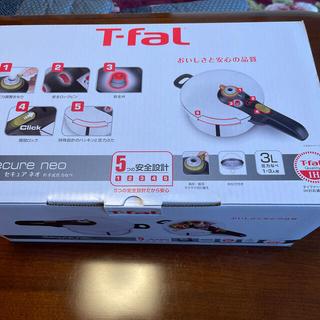 ティファール(T-fal)のT-FAL セキュア ネオ 片手式圧力なべ(鍋/フライパン)