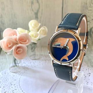 ピエールラニエ(Pierre Lannier)の【美品】Pierre Lannier ピエールラニエ 腕時計 イルカ 限定(腕時計)