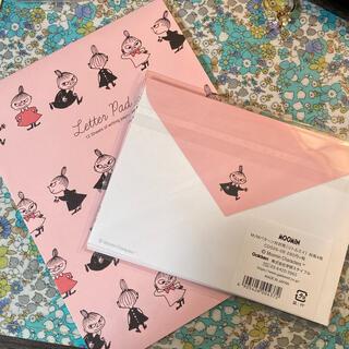 リトルミー(Little Me)のリトルミーのLetter Padと封筒のセット(カード/レター/ラッピング)
