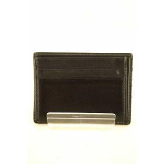 ランバン(LANVIN)のLANVIN(ランバン) レザー カードケース メンズ 財布・ケース(名刺入れ/定期入れ)