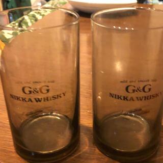 ニッカウヰスキー ガラスグラス 2個セット(グラス/カップ)