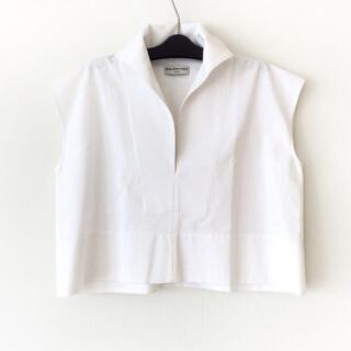 バレンシアガ(Balenciaga)のバレンシアガ 半袖カットソー サイズ34 S -(カットソー(半袖/袖なし))