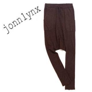 ジョンリンクス(jonnlynx)のjonnlynx rib knit sarrouel pants パンツ(その他)