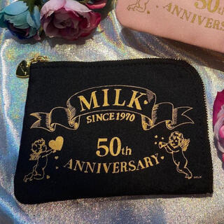 ミルク(MILK)の新品 MILK 50th ティッシュポーチ 限定品(ポーチ)