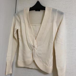 ボッシュ(BOSCH)の美品 ボッシュ セーター オフホワイト  サイズ38(ニット/セーター)