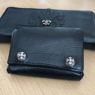 Chrome Hearts - クロムハーツ スリーフォールド 折り財布