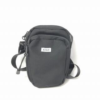 エーライフ(ALIFE)のエーライフ alife ショルダーバッグ サコッシュ 黒 ブラック 0223(ショルダーバッグ)