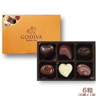 チョコレート(chocolate)のGODIVA ゴディバ チョコレート ゴールドアソートメント 6粒(菓子/デザート)