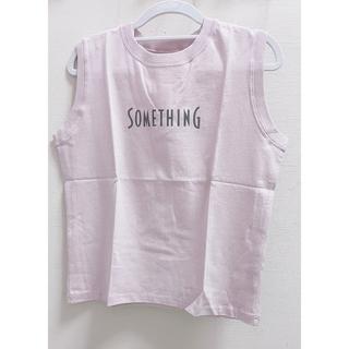 マーキュリーデュオ(MERCURYDUO)のMERCURYDUO×SOMETHING ノースリTシャツ(Tシャツ(半袖/袖なし))