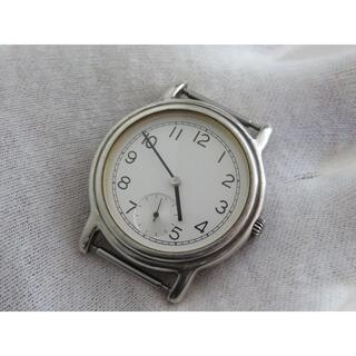 ムジルシリョウヒン(MUJI (無印良品))の無印良品 銀製腕時計 レア SILVER 925 スモールセコンド(腕時計(アナログ))