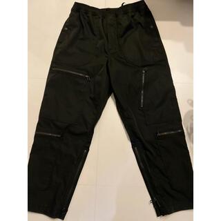 ダイワ(DAIWA)のDAIWA PIER 39 TECH PARACHUTE PANTS ブラック(ワークパンツ/カーゴパンツ)