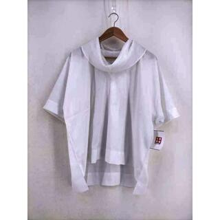 イッセイミヤケ(ISSEY MIYAKE)のISSEY MIYAKE(イッセイミヤケ) 襟プリーツプルオーバーシャツ(シャツ/ブラウス(半袖/袖なし))