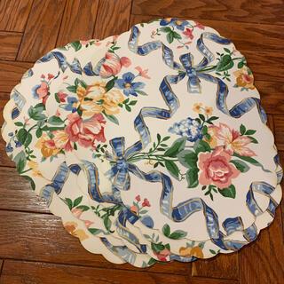 アメリカ製*花柄ランチョンマット プレースマット 6枚(テーブル用品)