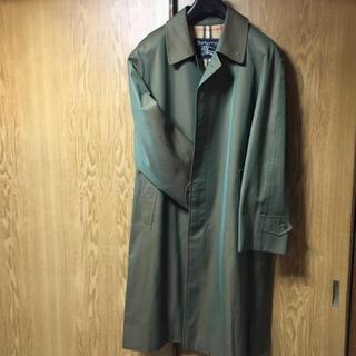 【最終値下げ】Burberry ステンカラーコート 玉虫色