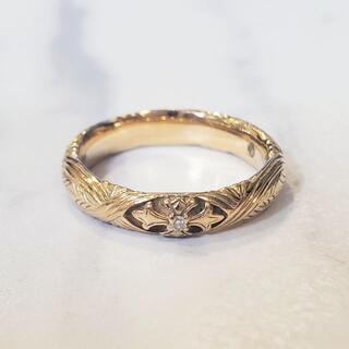ローリーロドキン(Loree Rodkin)のローリーロドキン LoreeRodkin 18金リング ダイヤモンド 指輪(リング(指輪))