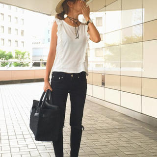 スライ(SLY)のSLY フリルタンク(Tシャツ(半袖/袖なし))
