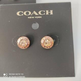 コーチ(COACH)のCOACHローズゴールドピアス(ピアス)