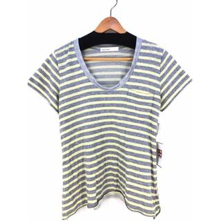 サカイラック(sacai luck)のsacai luck(サカイラック) メッシュレイヤード ボーダーカットソー(Tシャツ(半袖/袖なし))