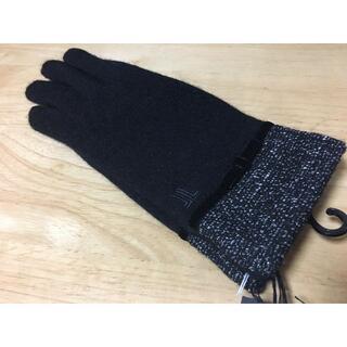 ランバンコレクション(LANVIN COLLECTION)の新品♪ LANVINランバン♪レディースアンゴラ混手袋スマホ対応(手袋)