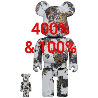 メディコムトイ(MEDICOM TOY)のBE@RBRICKJackson Pollock 100% & 400%(その他)