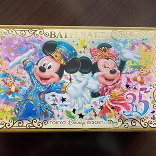 ディズニー(Disney)の35周年 バスソルト(入浴剤/バスソルト)