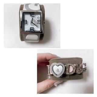 ドルチェアンドガッバーナ(DOLCE&GABBANA)のドルチェ&ガッバーナ DOLCE&GABBANA 時計 2本セット D &G レ(腕時計)