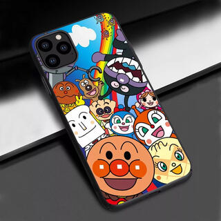 アンパンマン(アンパンマン)の新品 iPhoneケース アンパンマン バイキンマン ドキンちゃん コキンちゃん(キャラクターグッズ)