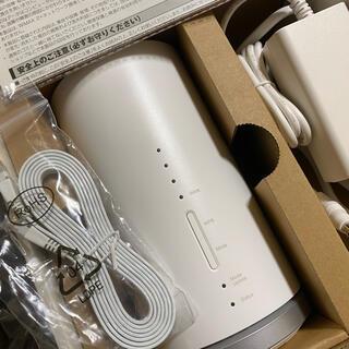 ファーウェイ(HUAWEI)のau ホームルーターSpeed Wi-Fi HOME L01s HWS32(PC周辺機器)