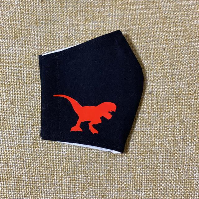 恐竜 ティラノサウルス インナーマスク ハンドメイドのキッズ/ベビー(外出用品)の商品写真