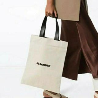 ジルサンダー(Jil Sander)の新品未使用タグ付き❗️ジルサンダー キャンバストートバッグ(トートバッグ)