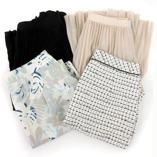 ロートレアモン(LAUTREAMONT)のロートレアモン LAUTREAMONT BLACK タグ付き 4点セット スカー(ミニスカート)