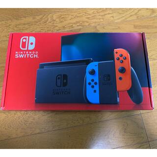 ニンテンドースイッチ(Nintendo Switch)の任天堂 スイッチ ネオン Nintendo Switch ほぼ未使用品(家庭用ゲーム機本体)
