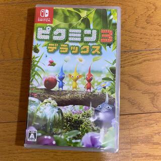 ニンテンドースイッチ(Nintendo Switch)のピクミン3 デラックス Switch ソフト 新品未使用(家庭用ゲームソフト)